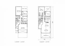 house plans for narrow lots with front garage house plans home with front entry garage narrow lot side att