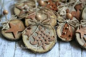 wood crafts for tree ornaments
