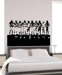 vinyl wall decal sticker football team 5085