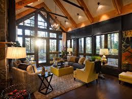 home design classic ideas cabin living room decor home design