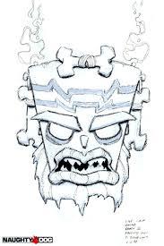 Crash Gallery Character Sketches Crash 3 Crash Bandicoot Coloring Pages
