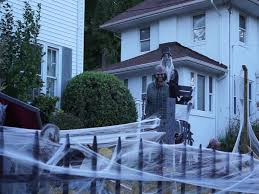 halloween decorations torture graveyard themed front yard youtube