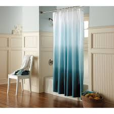 ombre shower curtain teal threshold apartments dorm stuff