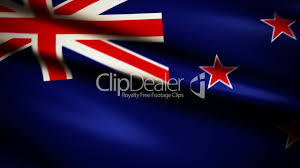 New Zealand Stars On Flag Waving Flag New Zealand Punchy Royalty Free Video And Stock Footage