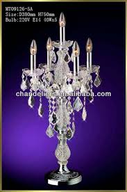 Chandelier Desk Lamp Epic Crystal Chandelier Table Lamp 34 On Interior Decor Home With