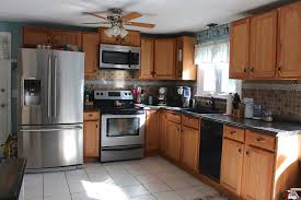 oak kitchen cabinets ideas traditional how to paint oak kitchen cabinets weekend craft at