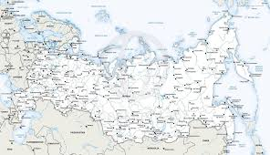 russia map with all cities printable map of russia by darci mulierchile