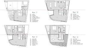 multi level floor plans modern split level house plans