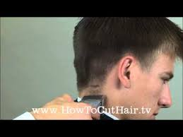 short hairstyles with weight lines blended in taper haircut how to blend men s hair with clippers youtube