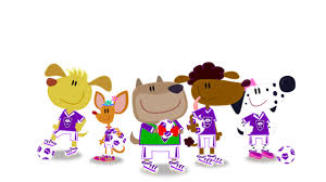 footy pups cbeebies bbc