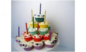 cupcake birthday cake cupcake tower birthday cake kidspot
