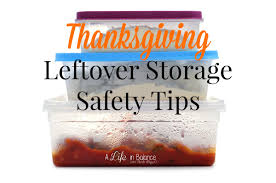 thanksgiving leftover safety tips and recipes