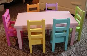american doll dining table special order doll dining table and chairs set for american