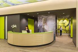 Second Hand Reception Desk by Andrea Rugg Photography Commercial Interiors Photography