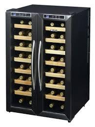 newair 32 bottle dual zone freestanding wine cooler u0026 reviews