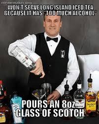 Funny Bartender Memes - inexperienced bartender â meme maker â make a meme online