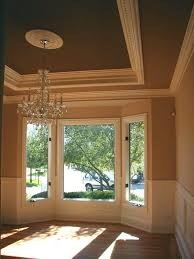 great tray ceiling and wainscoting home is where the heart is