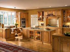 Maple Kitchen Cabinet Honey Maple Kitchen Cabinets With Natural Maple Island Coffee