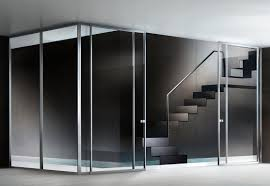 modern style commercial interior glass door with used commercial