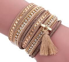 magnetic wrap bracelet images Ikevan women bohemian bracelet woven braided handmade wrap cuff jpg