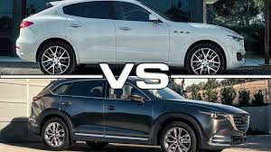 mazda 6 suv maserati levante vs mazda cx 9 youtube