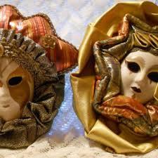 mardi gras wall masks shop vintage mardi gras masks on wanelo