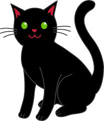 cute black cat pictures free download clip art free clip art
