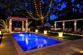 furniture charming landscape lighting ideas around pool lights
