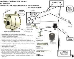 tractor alternator wiring diagram carlplant