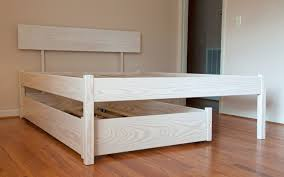 diy daybed with trundle mid century twin size daybed frame with trundle design decofurnish