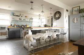 industrial kitchen island with storage from crates pallets industrial island with modern stools