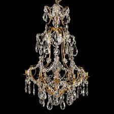Swedish Chandelier A Swedish Chandelier By Olof Westerberg Rokoko Stockholm 1792