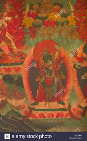 wall mural painting in a monastery in kalimpong india age is stock photo wall mural painting in a monastery in kalimpong india age is over a few hundred years