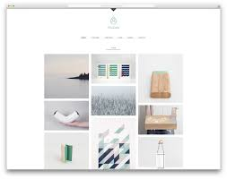 pinecone minimal portfolio website template web design