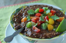 soup kitchen meal ideas crock pot vegan black bean and brown rice soup kitchen treaty