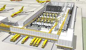 dhl siege social distribution center bhdp architecture dhl warehouse