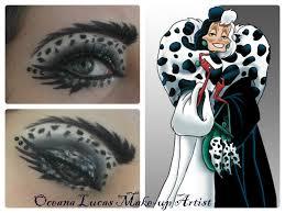 cruella deville eye make up by ocelucas disfraces pinterest