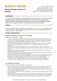 Business System Analyst Resume Sample by Business System Analyst Resume Samples Qwikresume