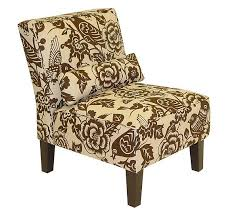 Slipper Chair Armless Canary Upholstered Slipper Chair Page 1 U2014 Qvc Com