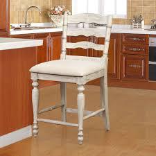Linon Home Decor Bar Stools Linon 018744wwash01u Marino Counter Stool In Distressed White Wash