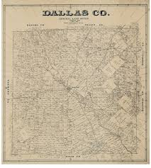 Map Of Dallas by Dallas County Texas 1884 Wall Map Reprint With Land Owners