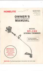 homelite string trimmer manual what to look for when buying