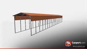 open carports carports shop a variety of metal carports rv carports and kits