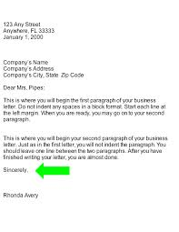 Business Letter Template Closing We Hope Closing Business Letter Part Of Business Letter Are