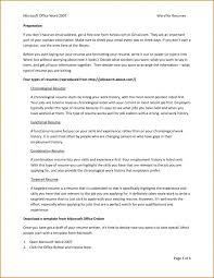 Office 2007 Resume Templates Cover Letter Resume Templates Microsoft Office Free Resume