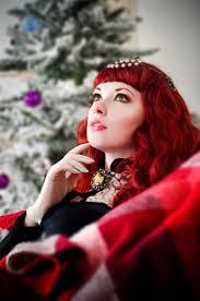 Red Hair Girl Meme - 49 best redselena gothic red hair model images on pinterest
