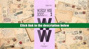 popular book wordly wise 3000 book 2 answer key for online