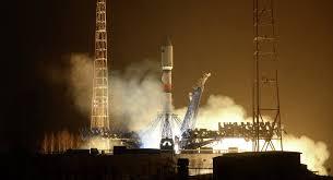 soyuz 2 1b launches glonass m navigation satellite into orbit