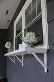build a window serving buffet bright green door