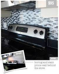 Stick On Kitchen Backsplash by Coolest Thing Everrrrr Stick On Tiles For Your Backsplash